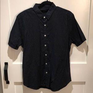 7 Diamonds Short Sleeve Button Up Shirt